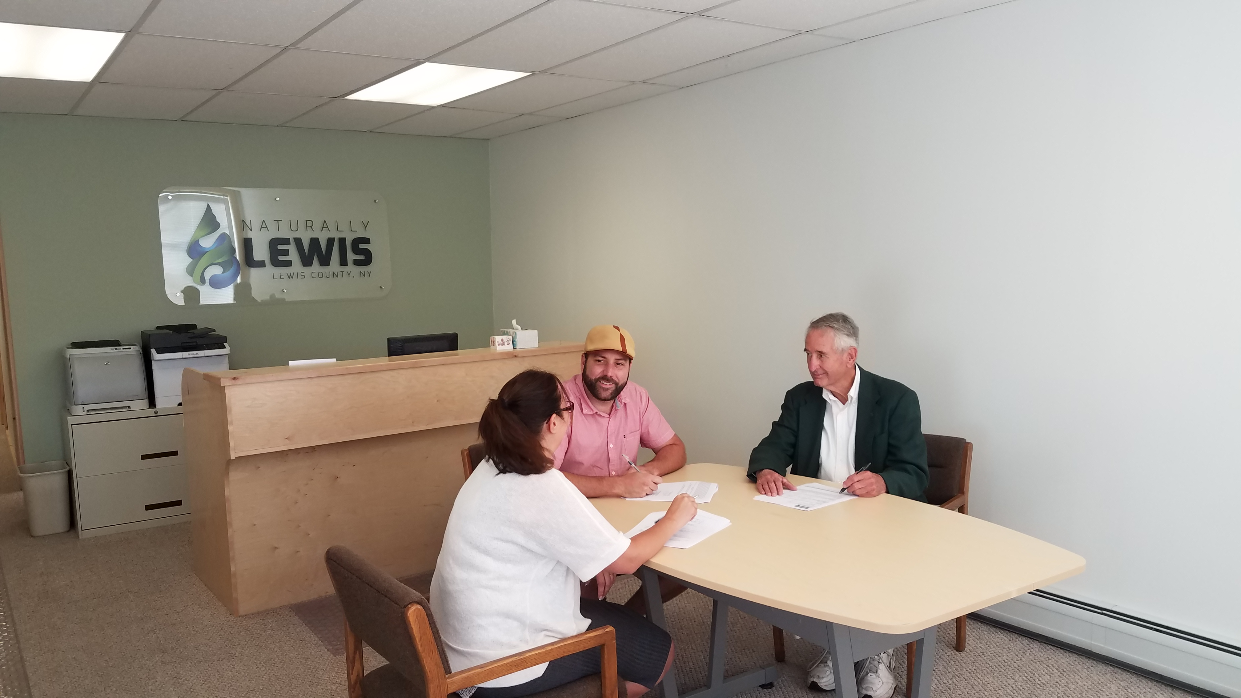 Its Official Naturally Lewis Lewis County Industrial - Lewis training table