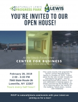 Center for Business (formally Climax) Open House!